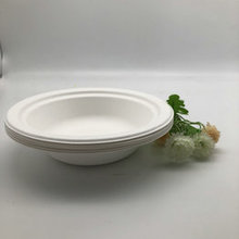 16oz 460ml 100% Biodegradable Food Container Disposable Paper Bagasse Bowl