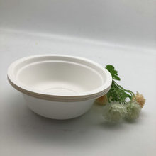 500ml Compostable Bagasse Round Rice Soup Salad Bowl