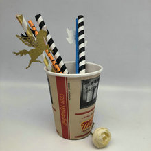 Biodegradable Recycled Colorful Food Grade Drinking Paper Straws