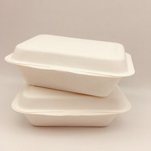 ​​ Biodegradable  sugarcane bagasse lunch 600ml box