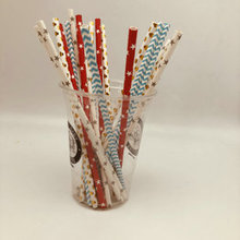 Wholesale Free Samples Individually Wrapped Disposable Paper Straws