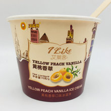 18oz single wall ice cream paper cup disposable