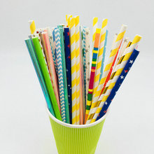 eco-friendly colorful paper straw for party celebration,Jumbo straw