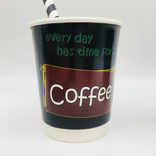 New design custom double wall coffee craft paper cup