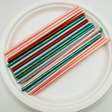 Free Samples Individually Colorful Wrapped Biodegradable Disposable Paper Straws