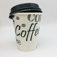 New Products Single Wall Disposable Paper Coffee Cup With Lids