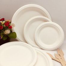 Top selling products disposable biodegradable round plate