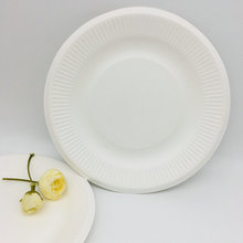 Nice design sugarcane disposable biodegradable plate