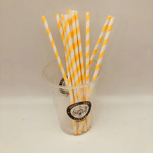 Eco-Friendly Disposable Cocktail Drinking Paper Straws FDA Approved