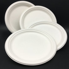 Eco-friendly bagasse biodegradable disposable paper plate