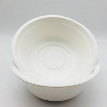 Biodegradable dinnerware bagasse pulp round mixing bowl Set