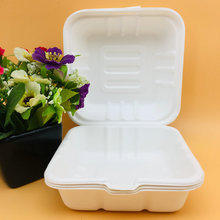 Bento Lunch Box Biodegradable Disposable Bagasse Boxes