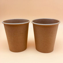 Biodegradable Take Away Hot Paper Cup Kraft Disposable Hot Sale