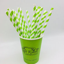 Disposable drinking straws paper straws 100% Biodegradable OEM printing
