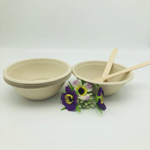 Eco-friendly biodegradable pulp sugarcane bagasse 500ml bowls