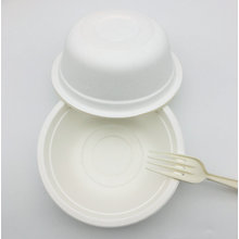 Biodegradable Bagasse Pulp Disposable Compostable Tableware Round Bowl