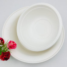 Eco Biodegradable Disposable Compostable Tableware Sugarcane Paper Bowl