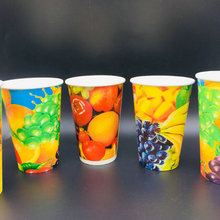 Various Size paper coffee cups wholesale for Cold Drink Hot Drink paper cup takeaway paper cup