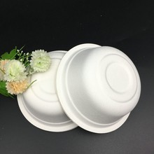 350ml round take away food containers bagasse disposable bowls
