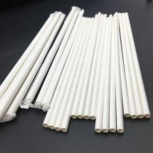 bar accessories biodegradable eco paper straw with custom packaging from China supplier