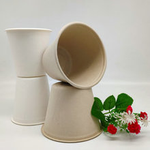 High Quality Disposable Paper Pulp Cups 17oz with Lid
