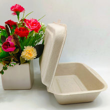 450ml Disposable Bento Lunch Box Biodegradable Tableware