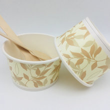 Customized Disposable Paper Ice Cream Cups Wholesale