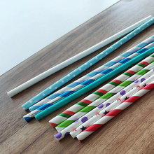 Pretty Disposable Striped Party Paper Straws Bulk Wholesale