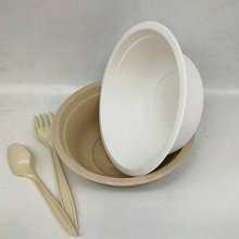 Sugarcane Tableware Disposable Fancy Soup Bowl 350ml