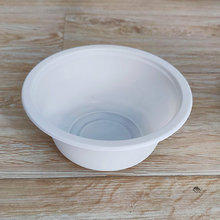 400ml Fancy Disposable Corn Starch Tableware Bowl Round Bowl