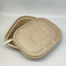 Takeaway Food Lunch Boxes Disposable Natural Meal Container