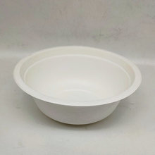 Normal Disposable Soup Bowls Sugarcane Biodegradable Cutlery