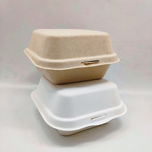 450ml Fast Food Bento Lunch Burger Box For Restaurant