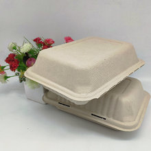 9*6 Inch Lunch Food Container Fast-Food Box Manufacturer