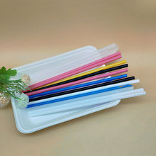 Clear Party Drinking Straws Made of Biodegradable PLA
