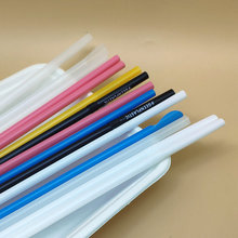 Colorful Biodegradable Party PLA Cold Drinking Straws