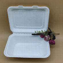 600ml Clamshell Chicken Box Convenient Lunch Food Container