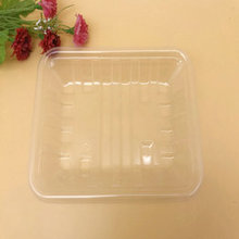 Biodegradable Tableware Transparent PLA Food Tray for Fruit