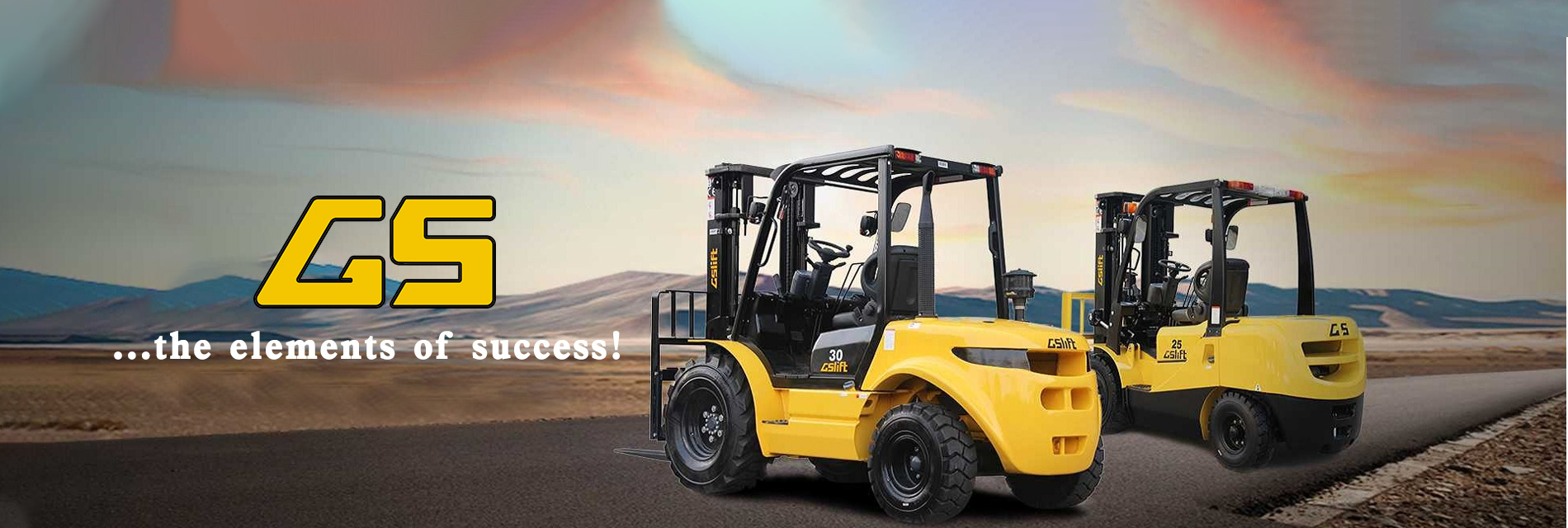 GS is the element of success-www.gs-forklift.com