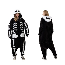 Animal Onesie My Fancy Costumes Adult Skeleton