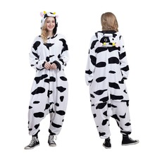 Animal Onesies Pajamas Adult Cow