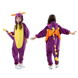 Animal Onesies Halloween Party Kids Dragon