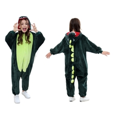 Animal Onesie Halloween Costumes Kids Dinosaur