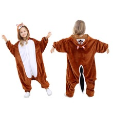 Wholesale Animal Onesie Kids Fashion Chipmunk