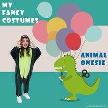 Animal onesies Party Costumes Kids Dinosaur