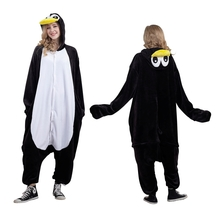 Animal Onesie pajamas Unisex costumes Adult Penguin