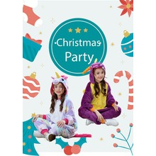 Flannel Pajamas for kids Pastel Unicorn Christmas gifts