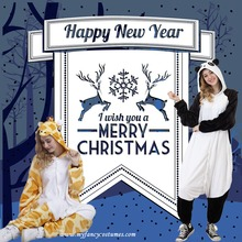 Festival Costumes Christmas gifts Animal Onesie