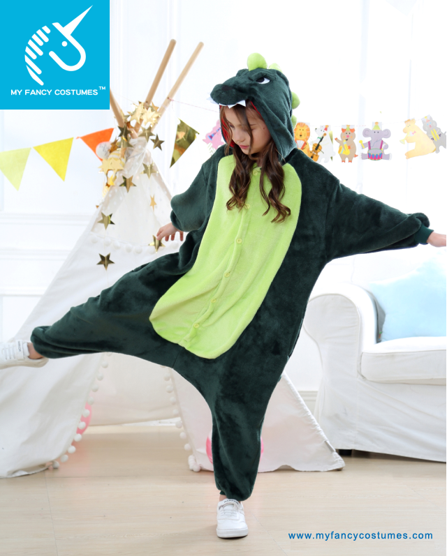 Halloween costumes, baby wearing, kids costumes, dinosaur pajamas