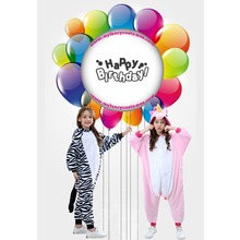 Animal onesie  Birthday Party Kids Pink Unicorn
